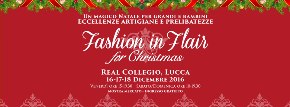 Fashion in Flair for Christmas, Lucca
