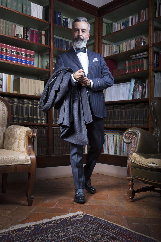 Stefano Agnoloni per Il Farfallino. Outfit by Viale Piave 3, Prato, Ph. Fabio Chessa