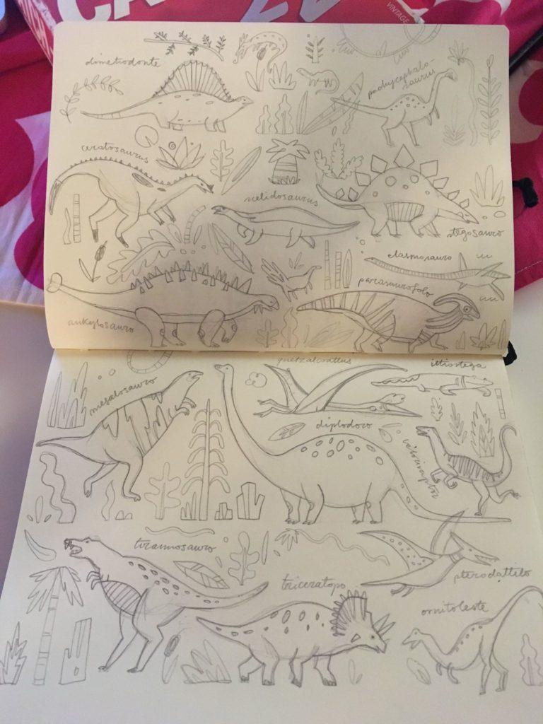 Elena Lombardi Sketchbook